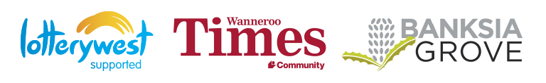 Event Sponsors Lotterywest, Wanneroo Times & Banksia Grove