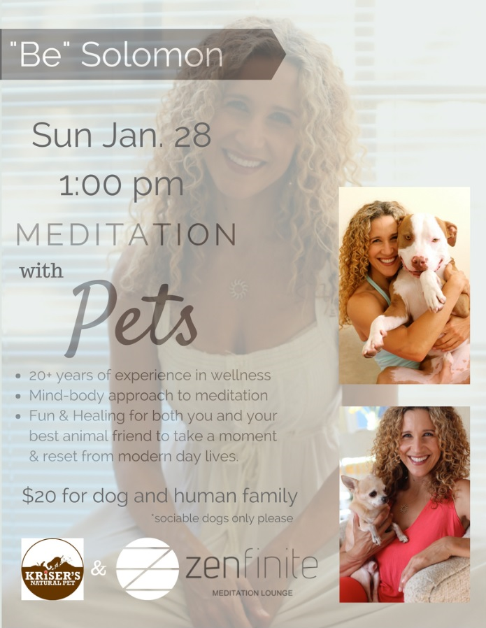 Zenfinite Meditation with Pets