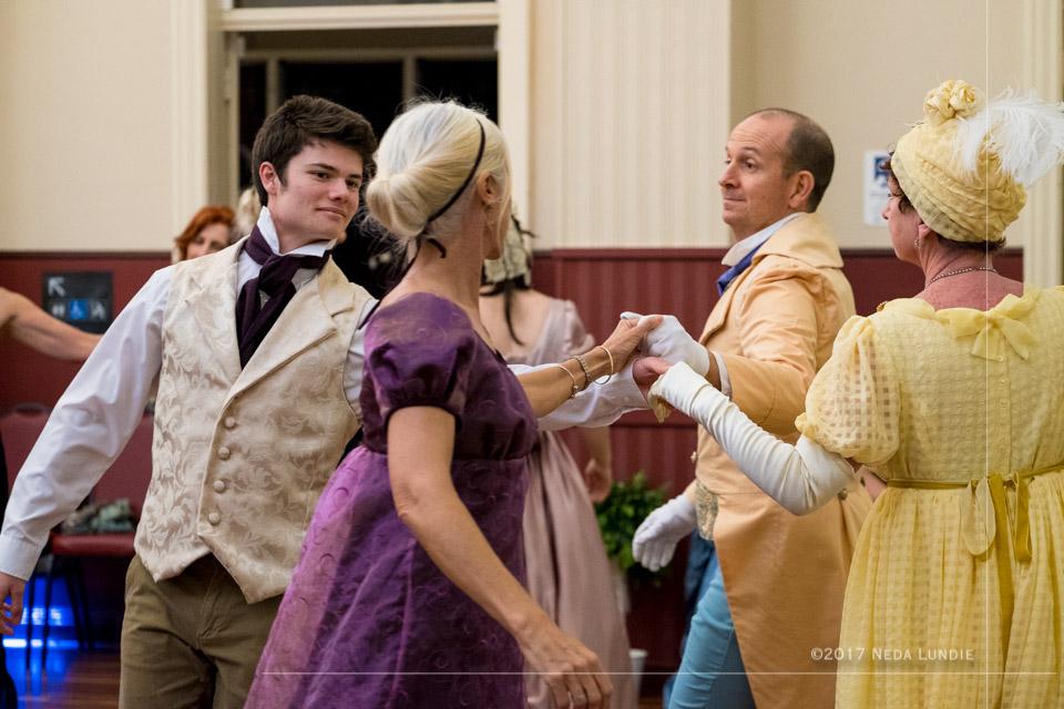 A Jane Austen Ball Image by Neda Lundie