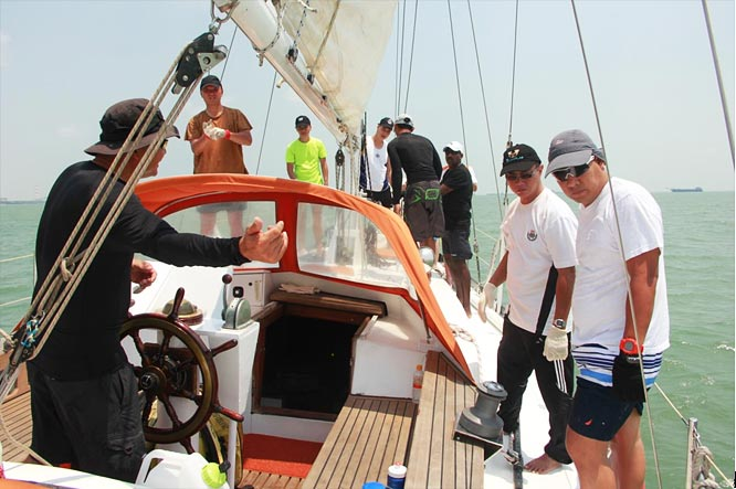 Sailing Experience onboard Maybritt