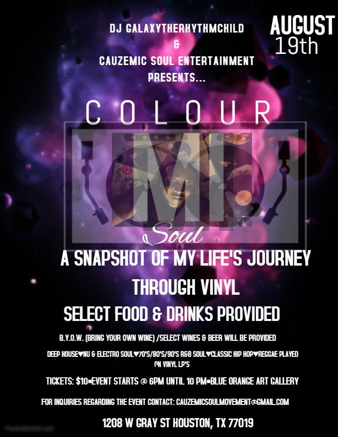 COLOUR MI SOUL FLYER