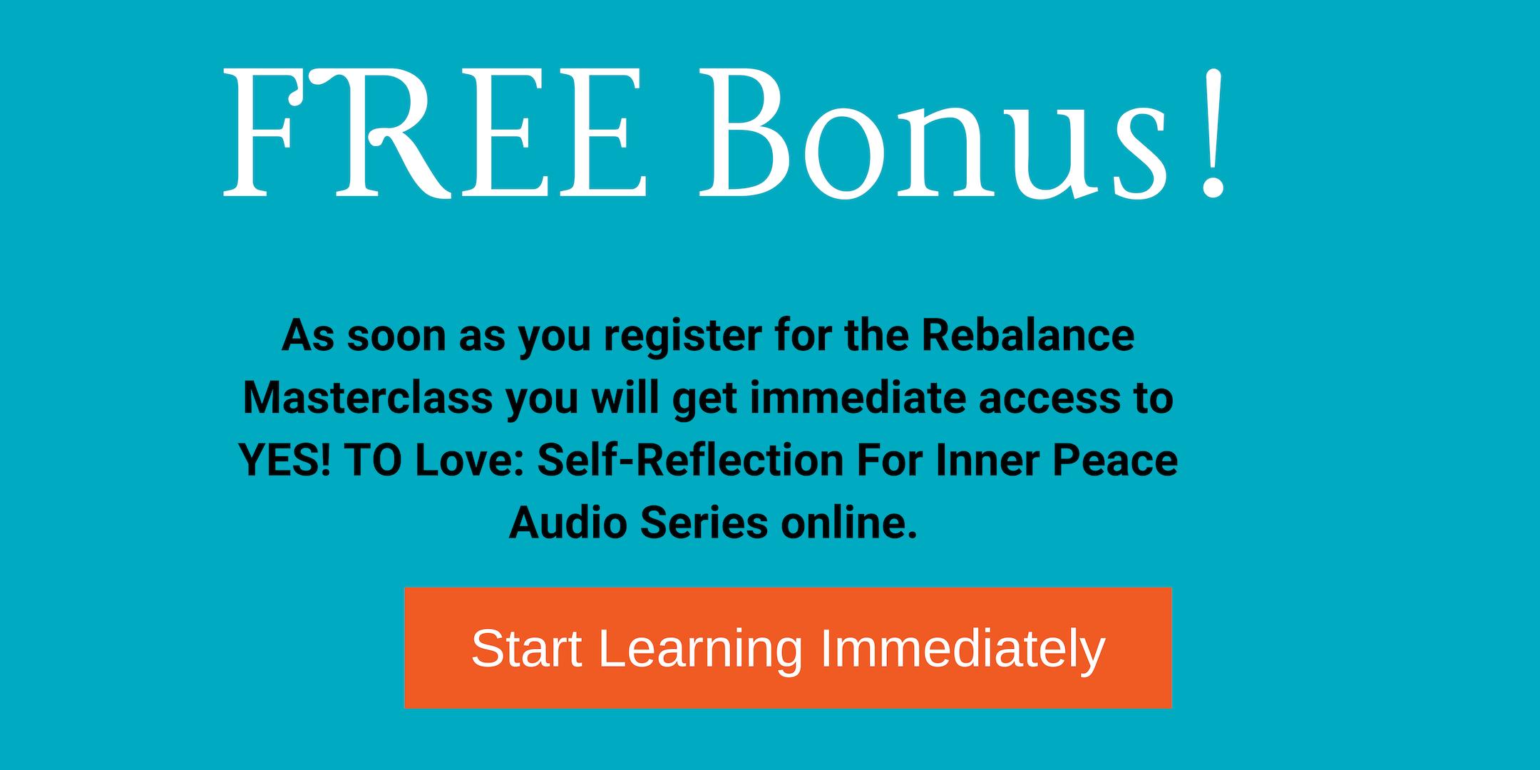 Rebalance Masterclass FREE Bonus