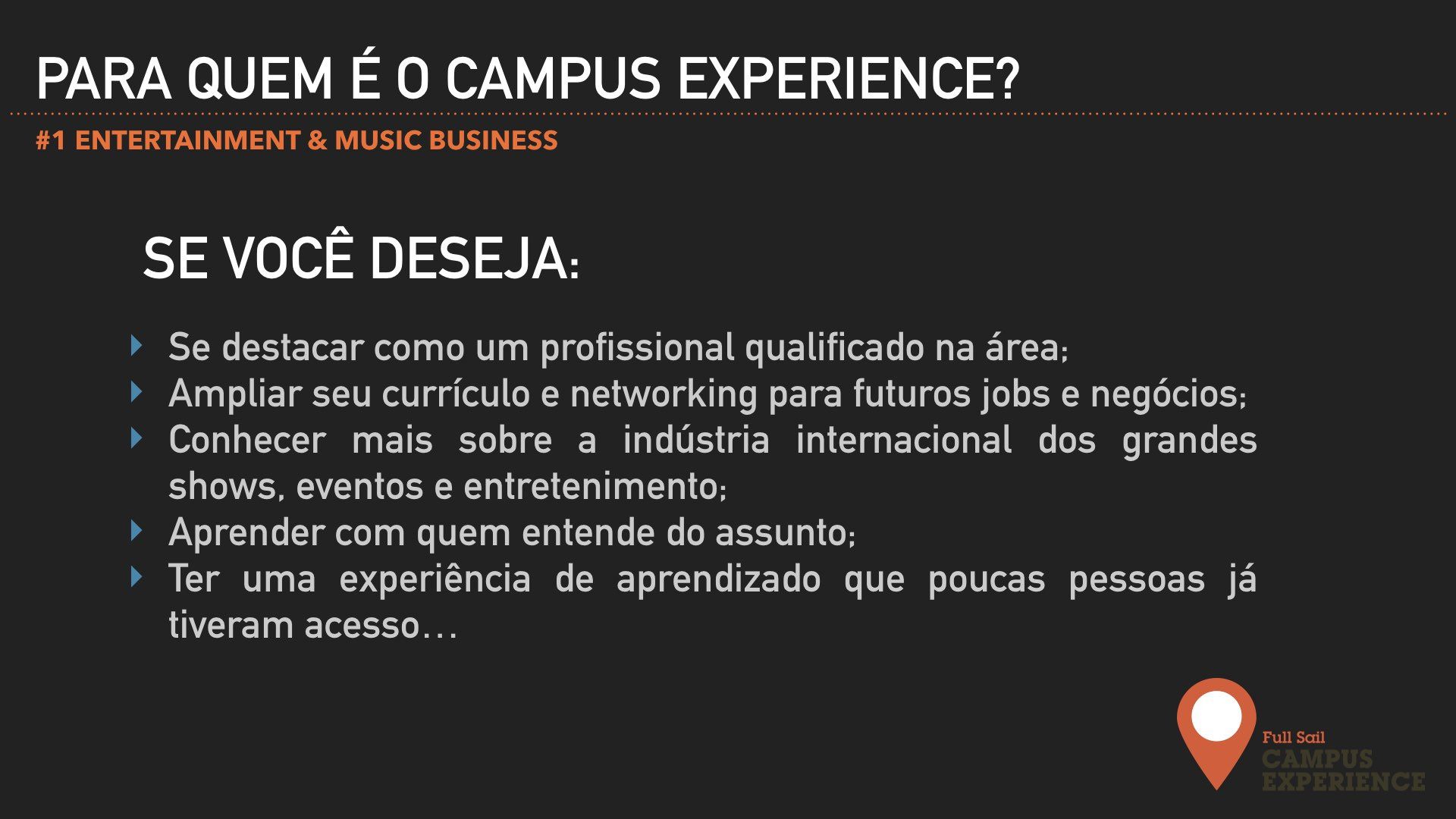 CAMPUS EXPERIENCE ENTERTAINMENT 2