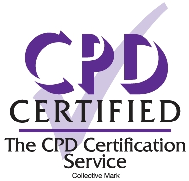 CPD Certified by CPD UK