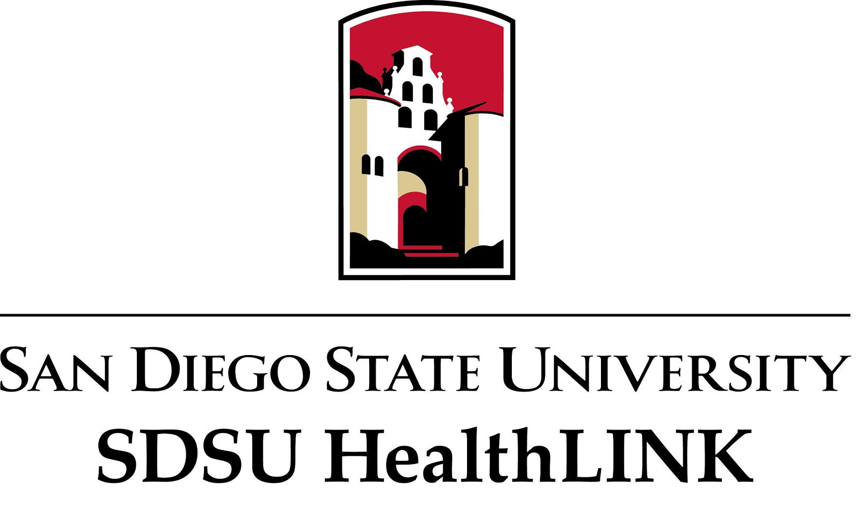 SDSU HealthLINK Logo