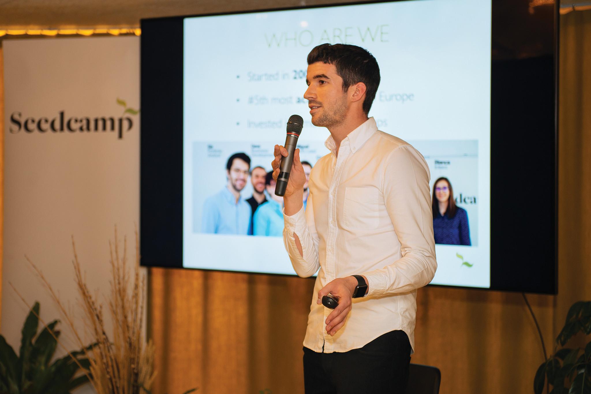 Tom Wilson, Seedcamp Investment Manager