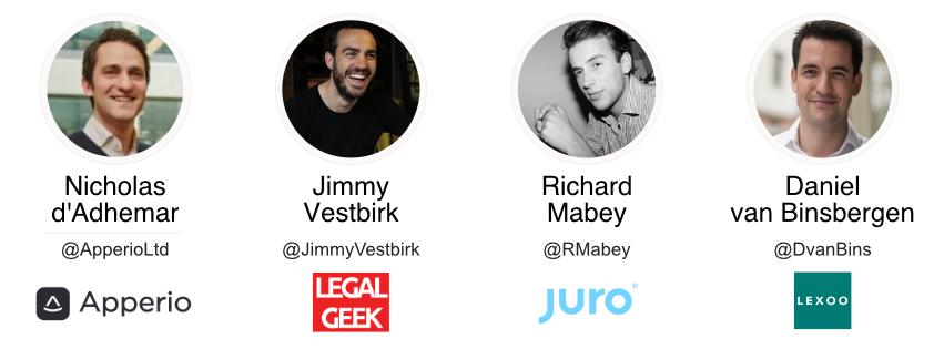 Legal Tech speakers