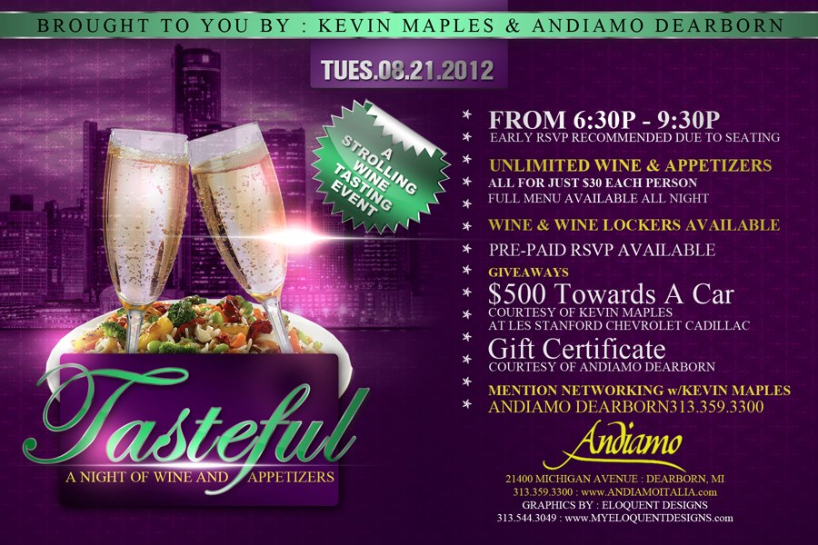 Tasteful Wine Tasting Amp Networking W Kevin Maples Tickets