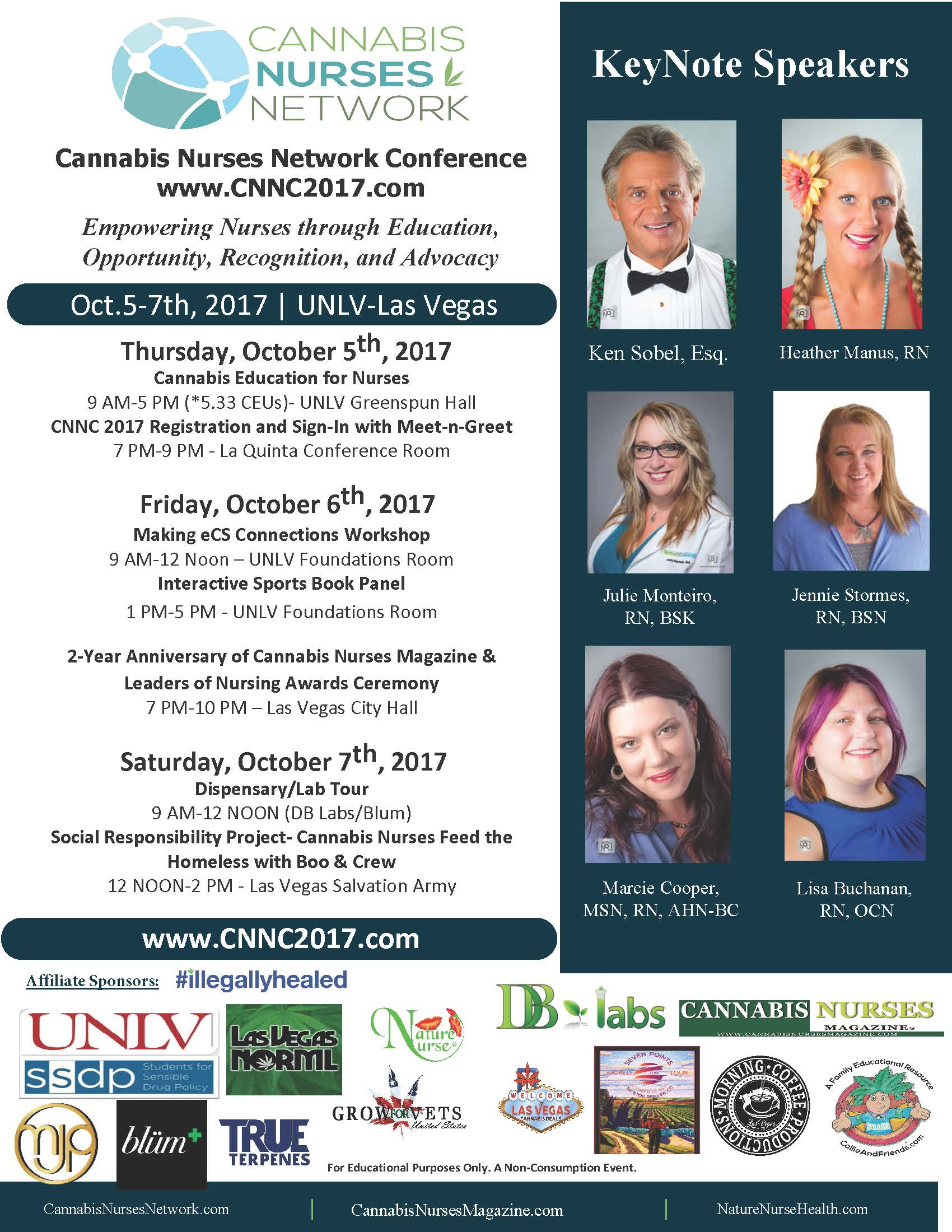 CNNC2017 Main Conference Flyer