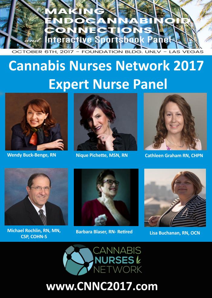 Cannabis Nurses Network 2017 Expert Nurses Panel