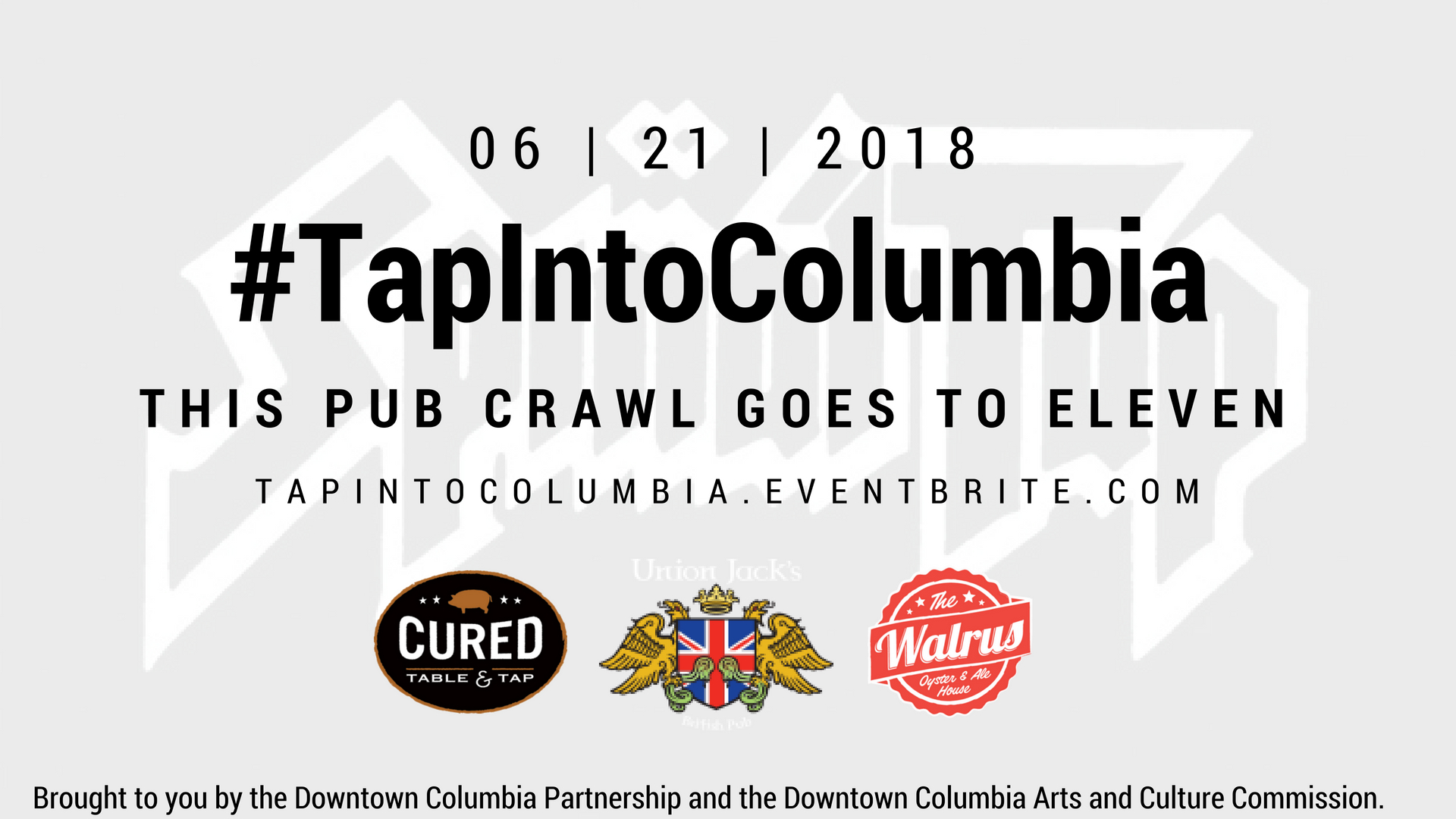 Tap Into Columbia Logo