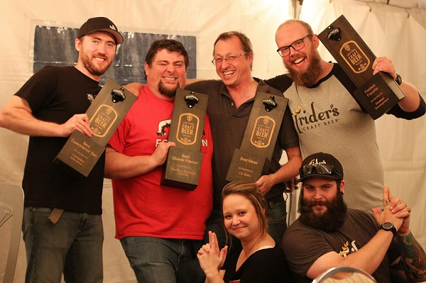 First Town Craft Beer Festival Winners 2017