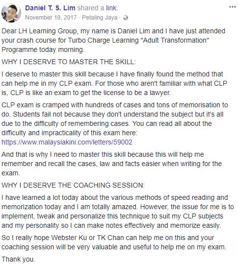 daniel testimony