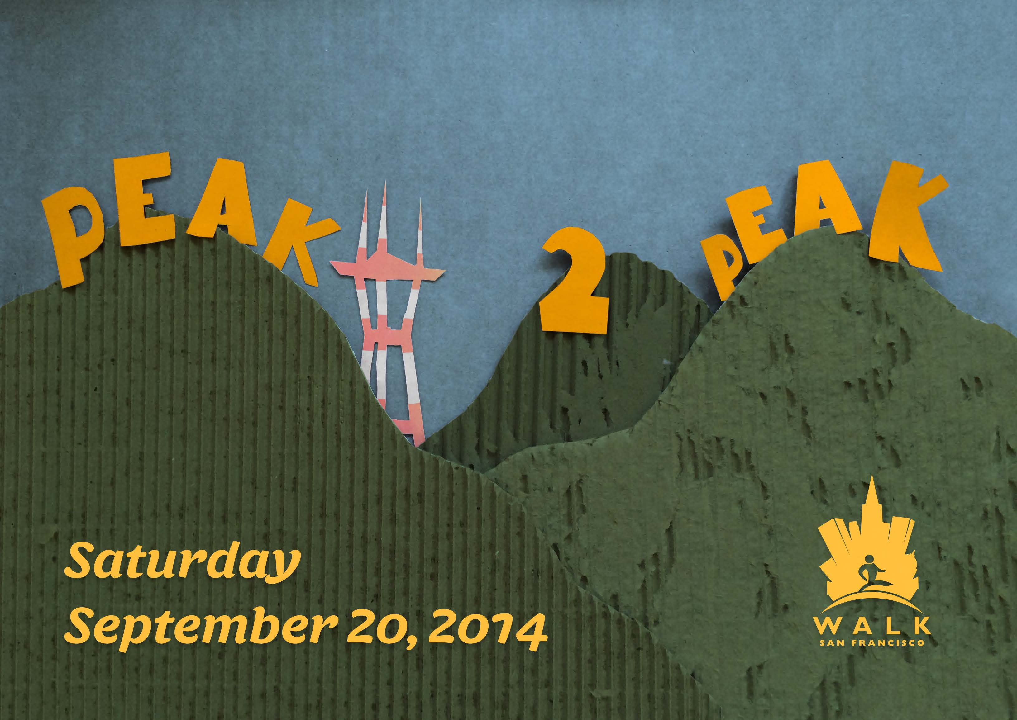 Peak2Peak 2014 Art by Abe Bingham