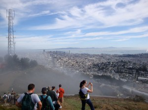 View from SF peaks