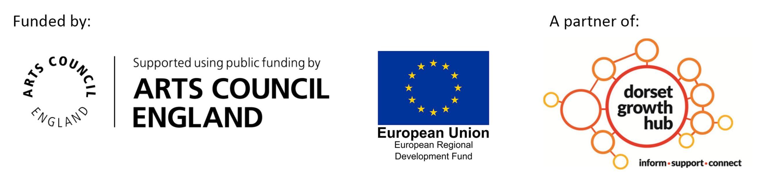 ERDF funder logos