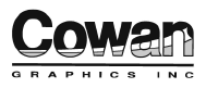 Logo for Cowan Graphics