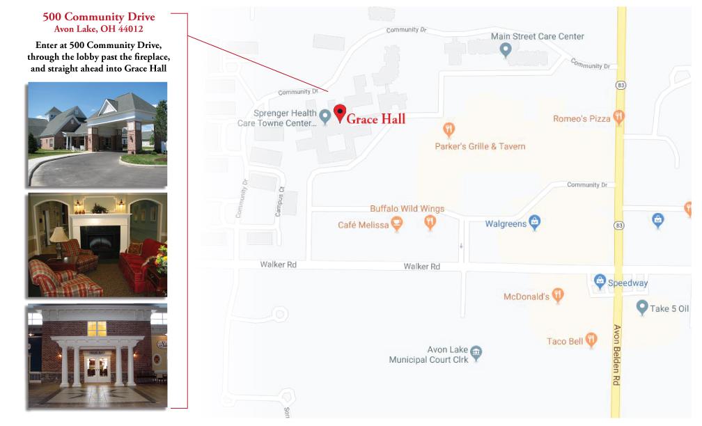 map of Sprenger Health Care Towne Center,