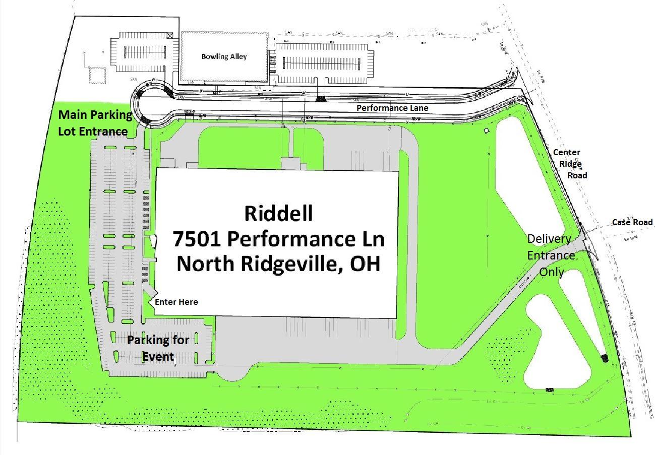 map of Riddell