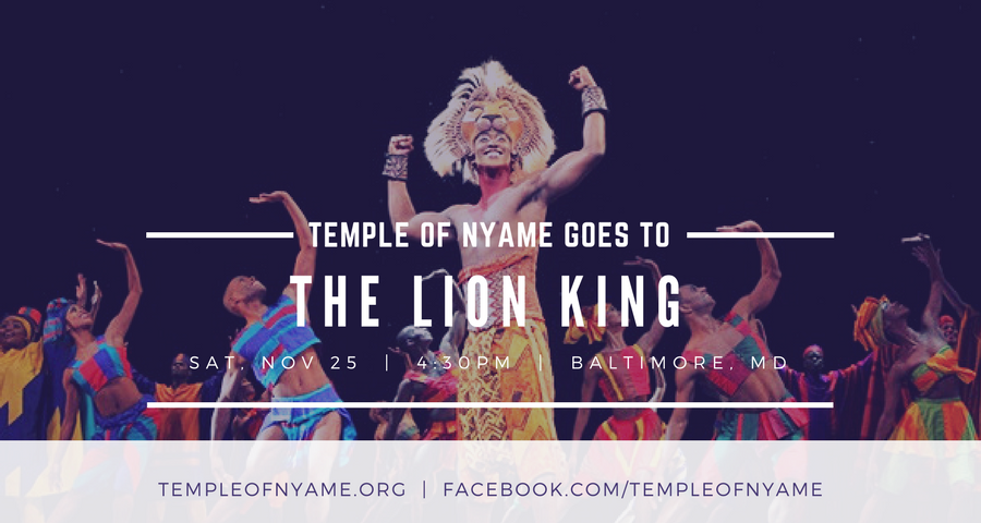 Temple of Nyame at Lion King