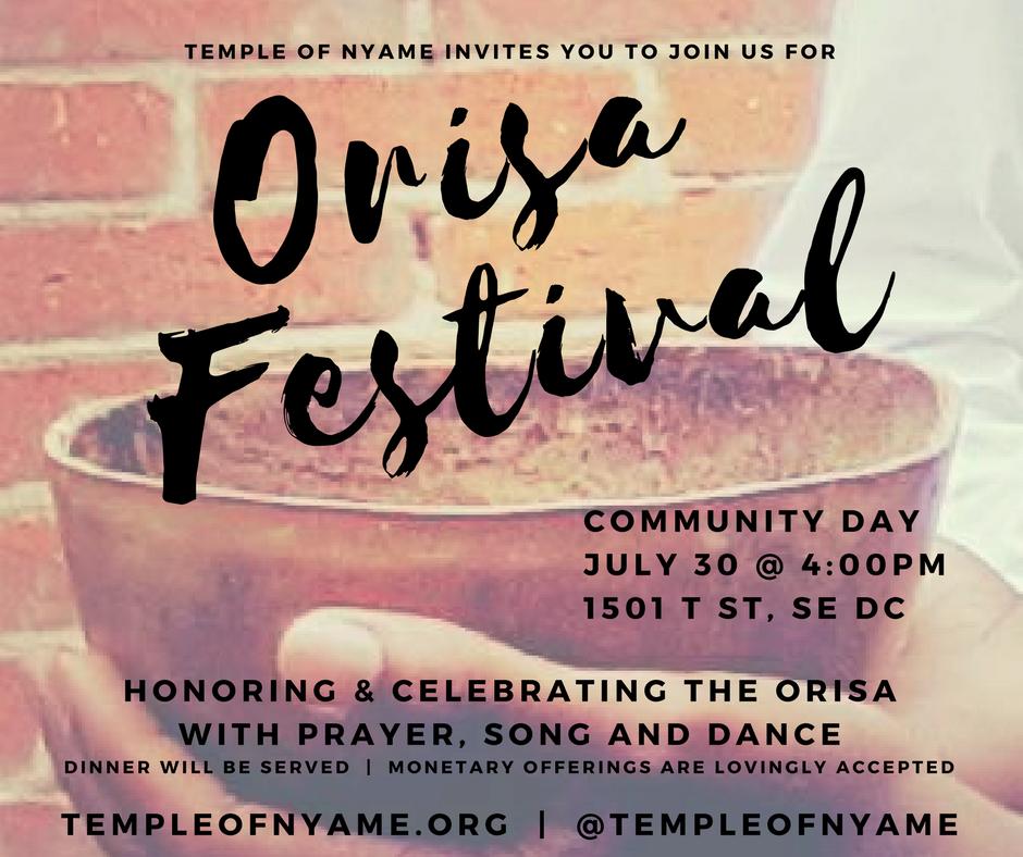 Temple of Nyame Orisa Festival 2017