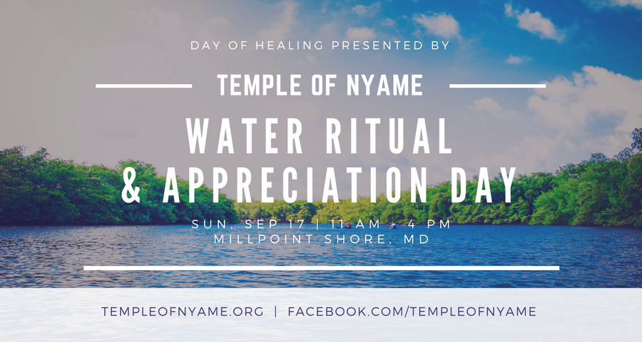 Temple of Nyame Water Ritual