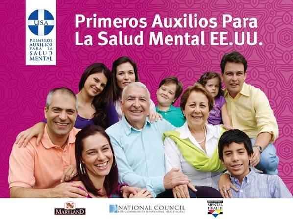 Primeros Auxilios Para La Salud Mental EE. UU.