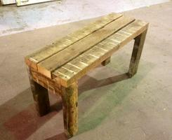 Wood Bench - Make It Take It (COUPLES OPTION)
