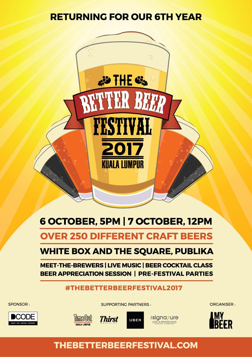 The Better Beer Festival 2017 Poster