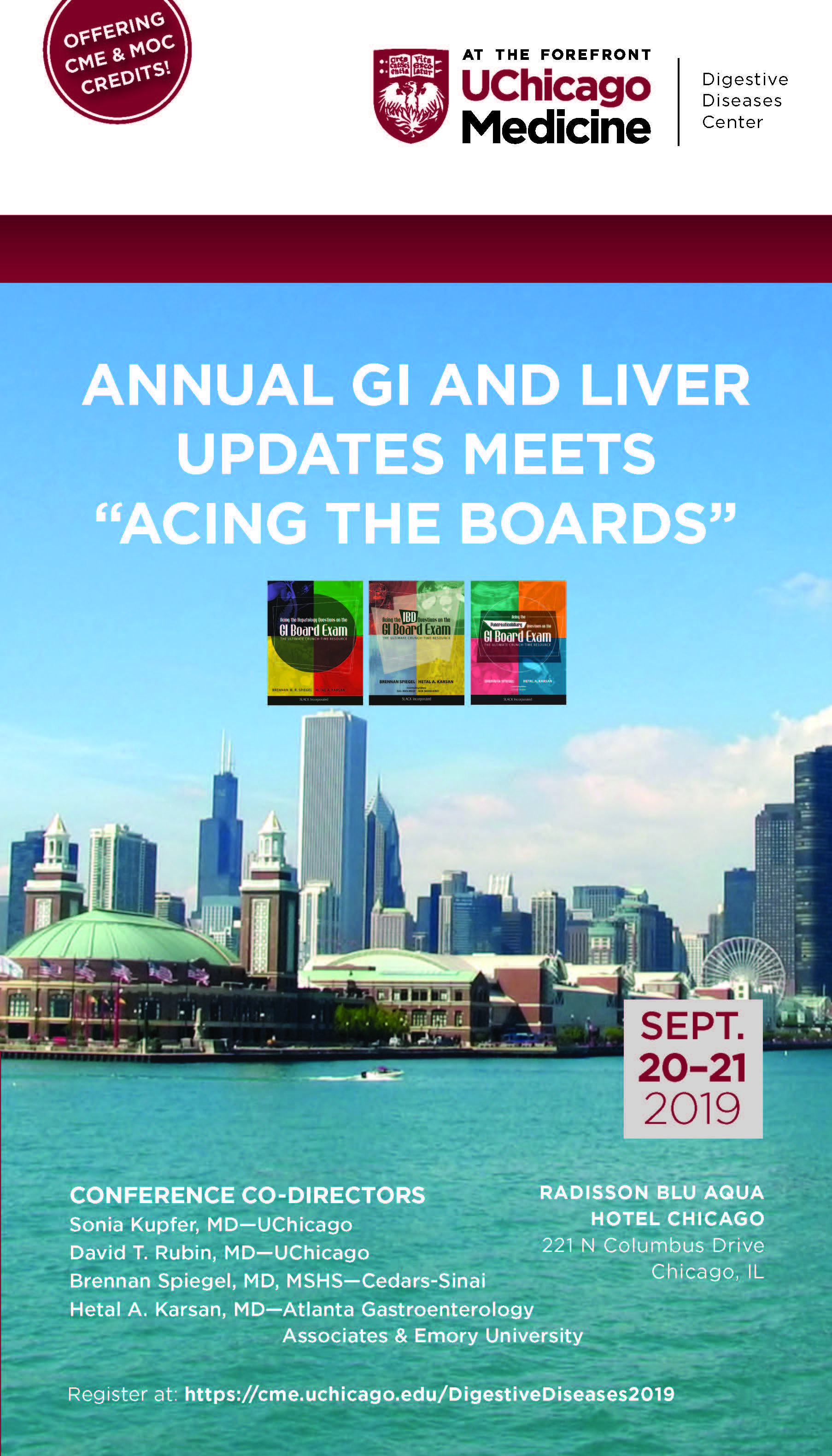 2019 Annual Updates in Digestive Diseases Meets Acing the GI
