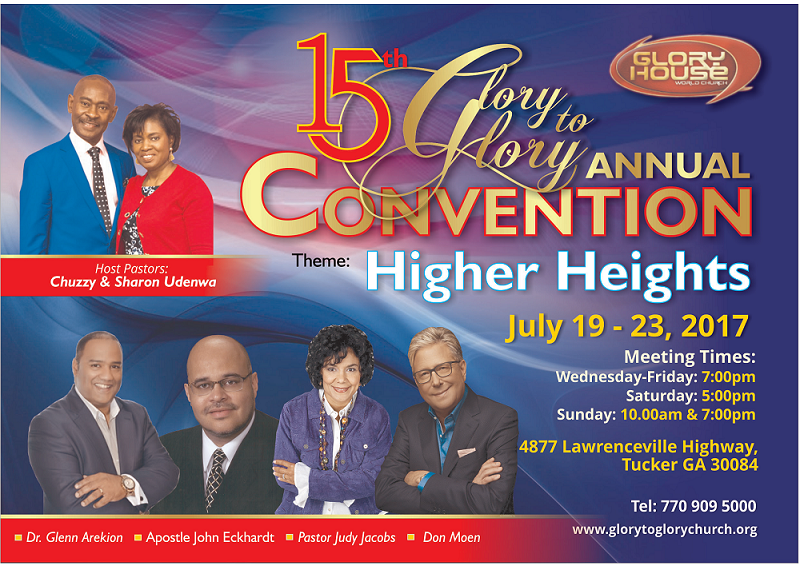 15th Annual Glory to Glory Convention
