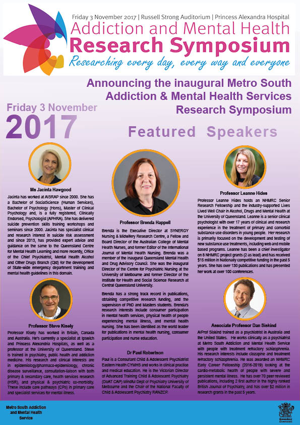 Research Symposium Flyer