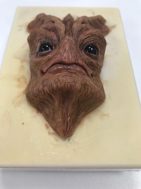 Half mask creature
