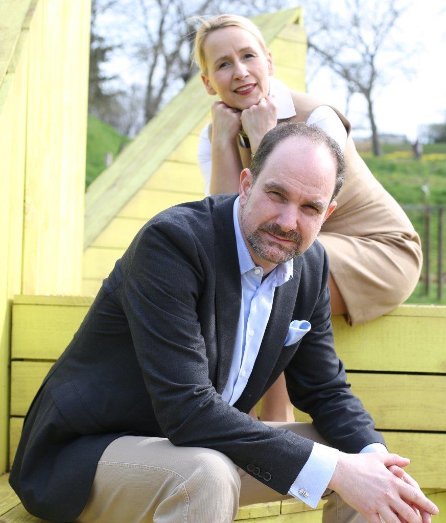 Carolin Amerling und Lutz Langhoff