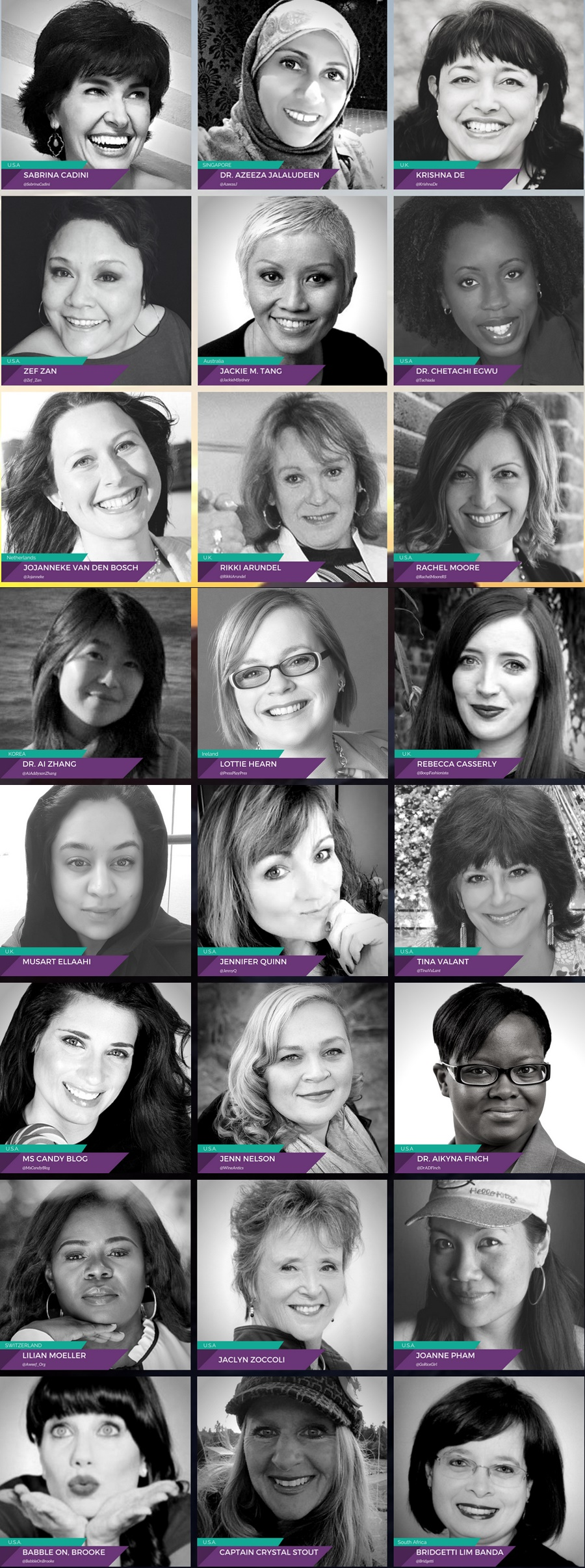 Ladies Go LIVE Virtual LIVE Summit 2017 - #LadiesGoLIVE17 - Speakers