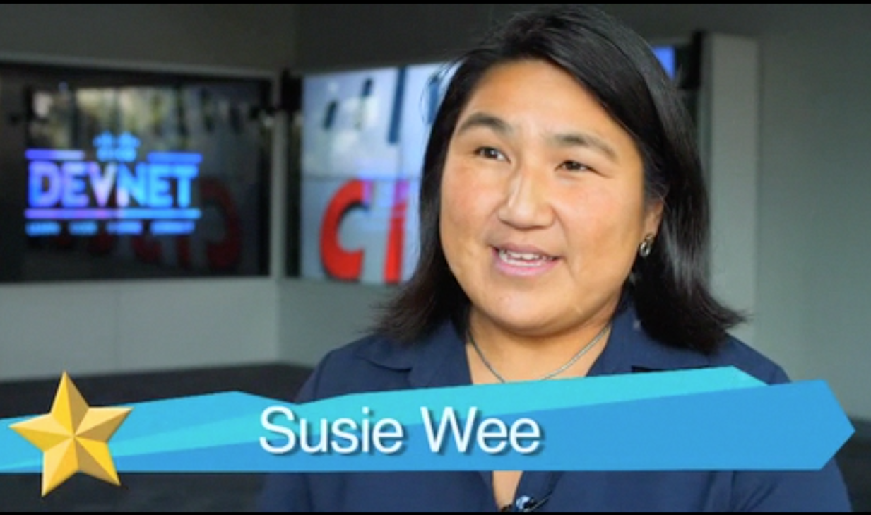 Susie Wee, Vice President and CTO of Cisco