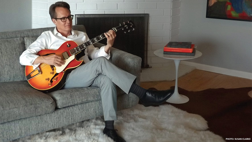Los Angeles-based jazz guitarist, Peter Kavanaugh