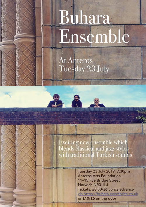 Buhara Ensemble flyer