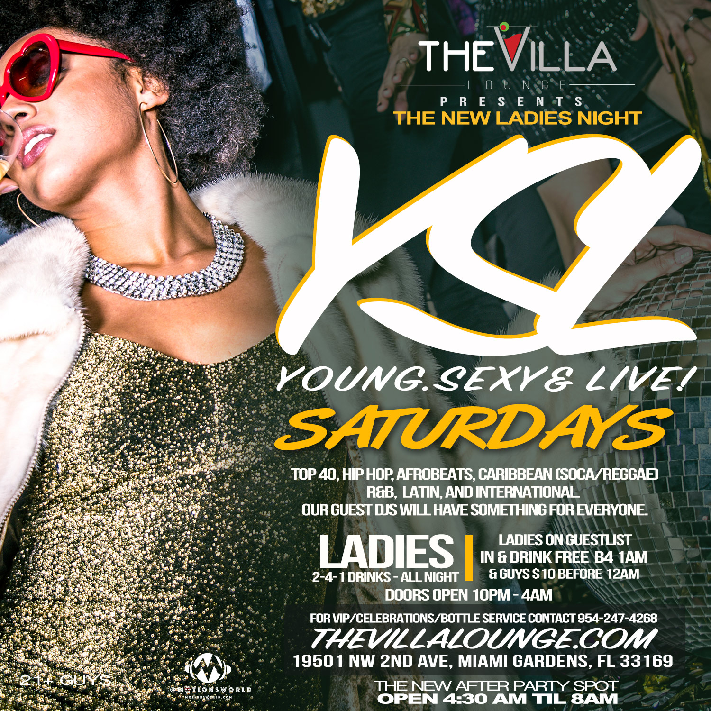 Ladies Night - YSL Saturdays