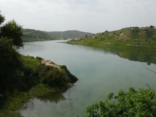 Evretou manmade lake