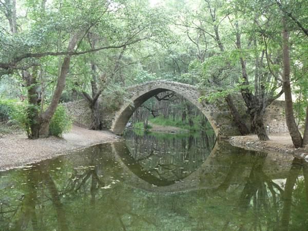 Kelephos medieval Venetian bridge