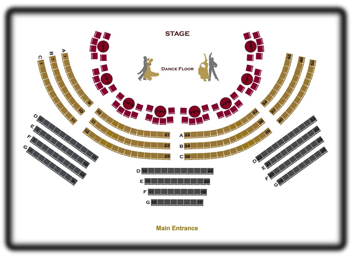 Concert Floor Plan
