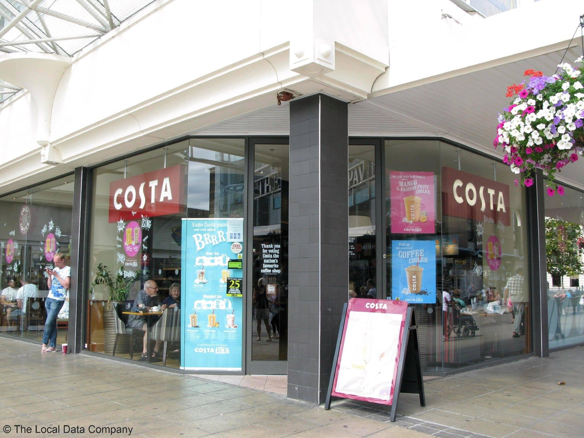 Costa Coffee, Uxbridge