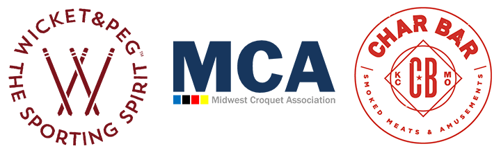 Sponsors: Wicket and Peg, Midwest Croquet Association, Char Bar