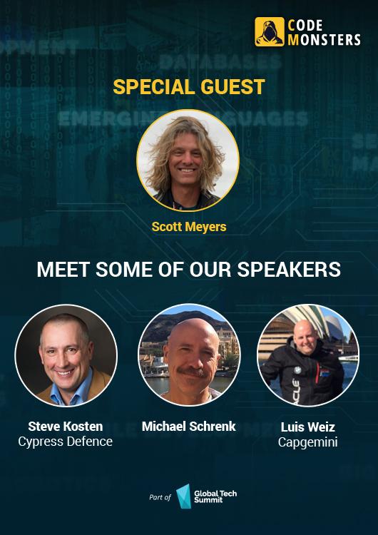 CodeMonsters Selected Speakers
