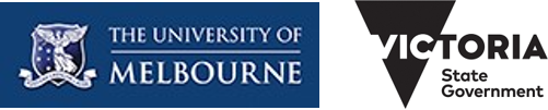 project delivered by University of Melbourne, funded by DHHS