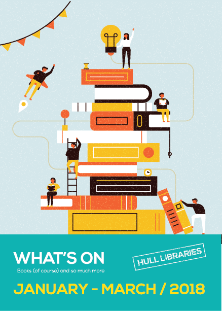 Hull Libraries brochure cover