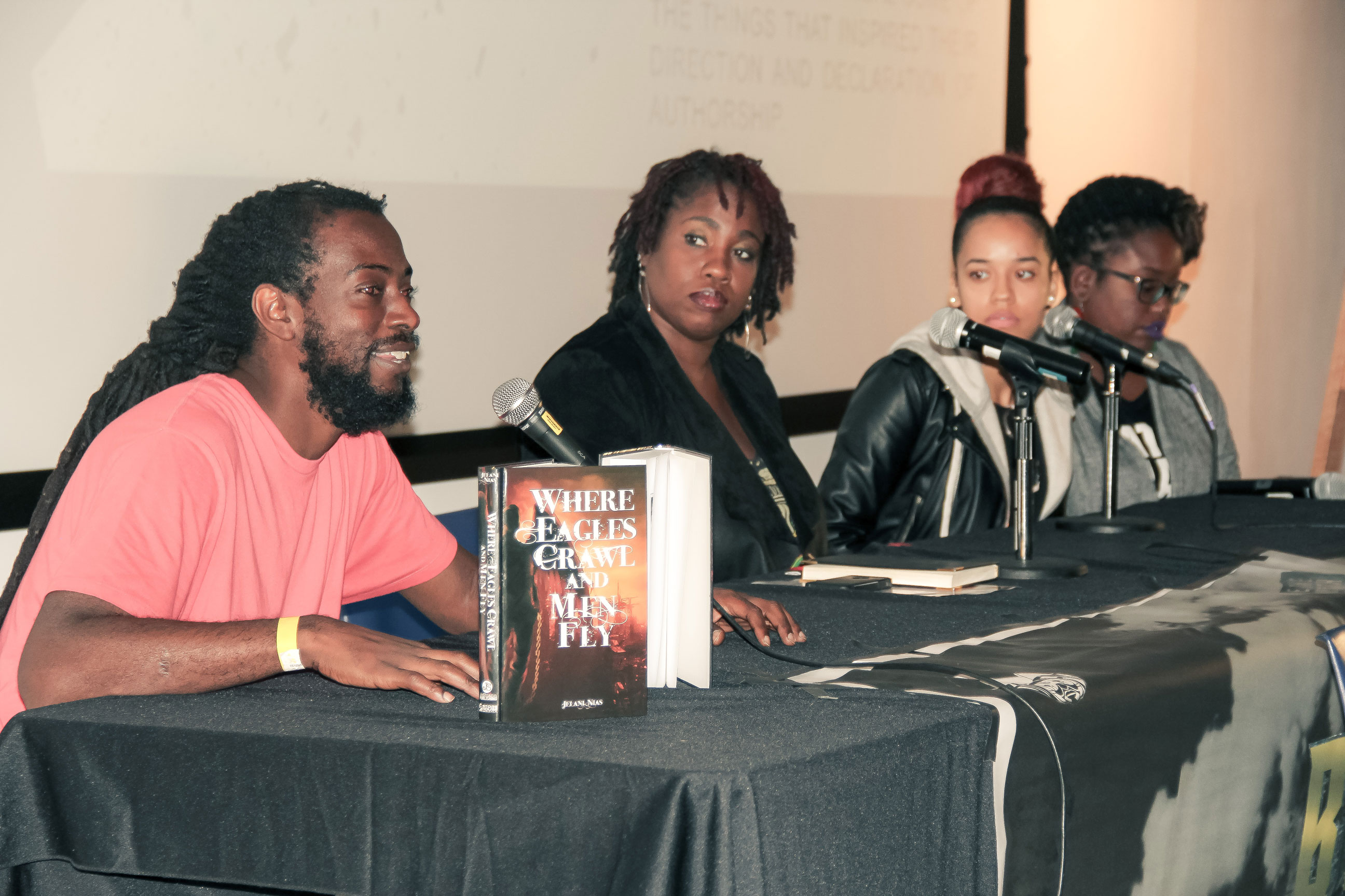 Black Ink: Speculative Writers Panel at BSAMToronto2016