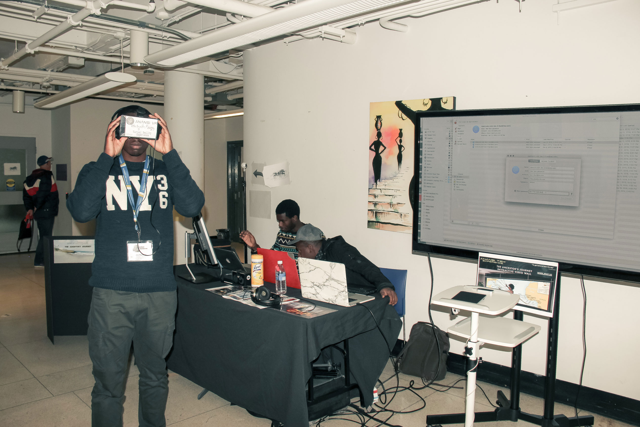 Black VR experience by Ian Sun of Anansi Tech Club at BSAMToronto2016