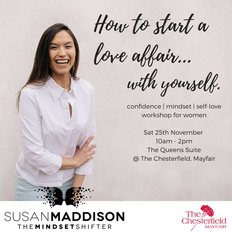 An intimate intensive for women only. Confidence. Mindset. Self-love.